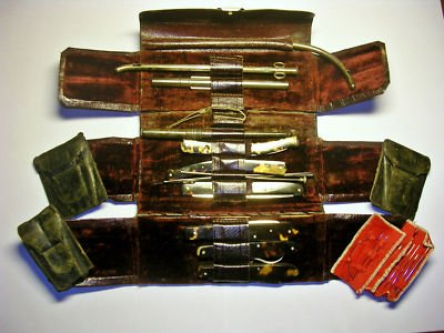 Antique surgeon's tools