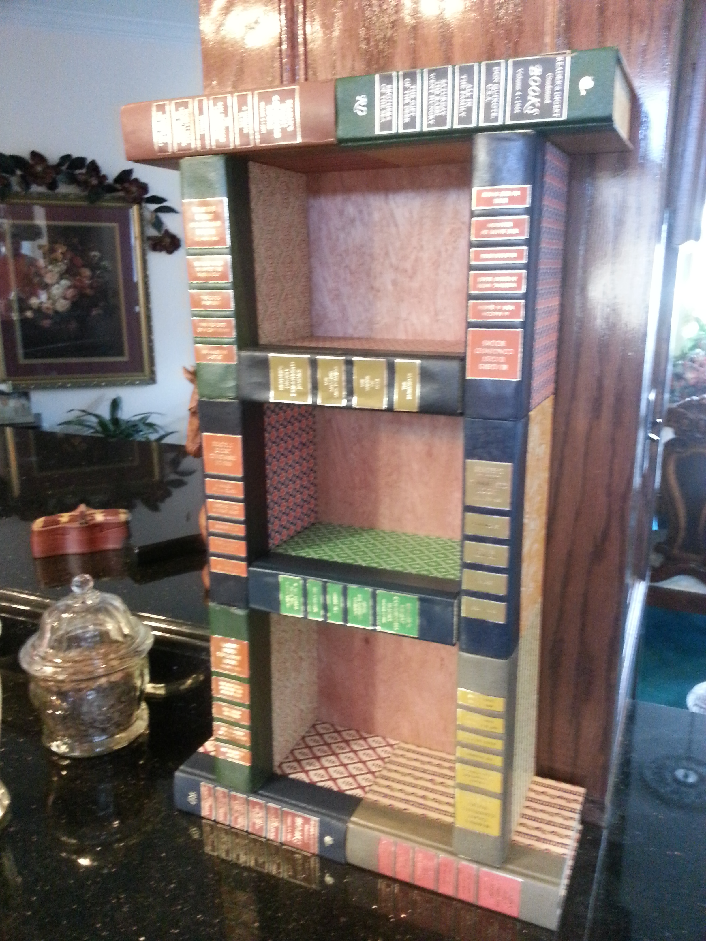 How To Make A Bookshelf Out Of Old Books
